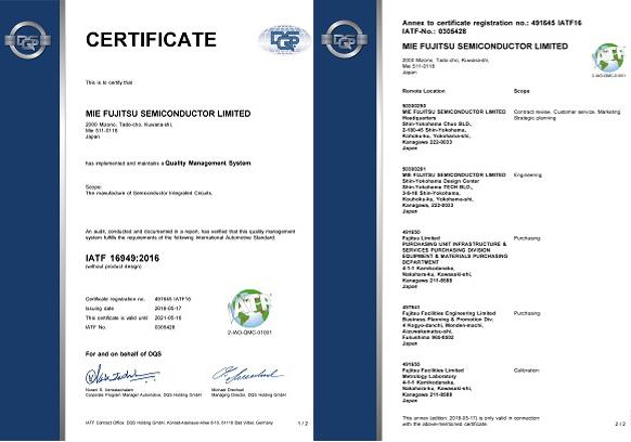 ISO/TS16949:(2008)CERTIFICATE