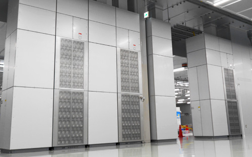 Figure 3: SWIT HVAC System installed in cleanroom