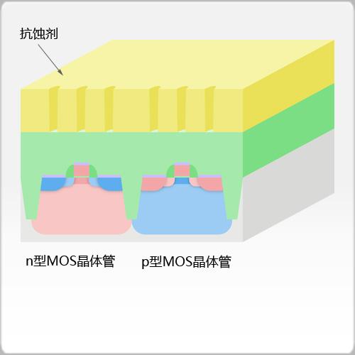 接触孔抗蚀剂图案形成